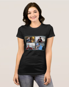SA band photos womens shirt