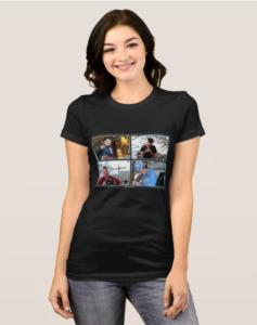 SA band photos womens shirt